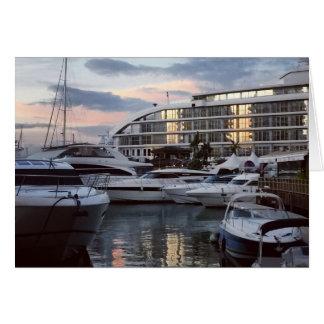 ジブラルタル-海の村(K.Turnbullの芸術) カード