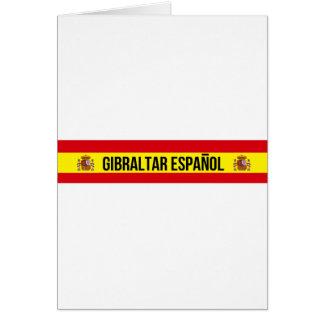 ジブラルタルEspañol -スペイン語ジブラルタル カード