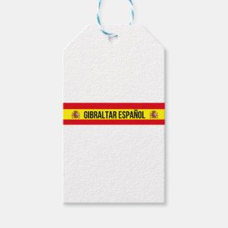 ジブラルタルEspañol -スペイン語ジブラルタル ギフトタグパック