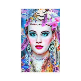 ジプシーの人魚、壁の芸術、Fantacyの芸術、人魚 キャンバスプリント