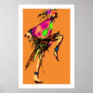 ジプシーの踊り ポスター
