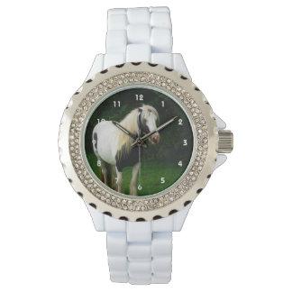ジプシーの馬の写真 腕時計