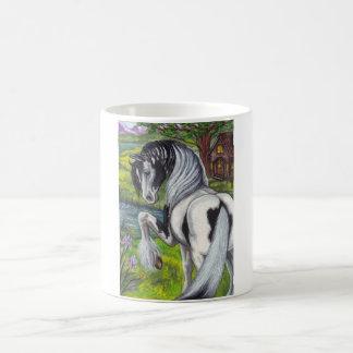 ジプシーの馬の小屋のマグ コーヒーマグカップ