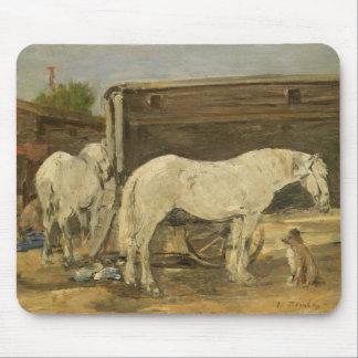 ジプシーの馬、c.1885-90 (キャンバスの油) マウスパッド