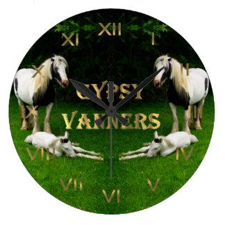 ジプシーのVanners ラージ壁時計