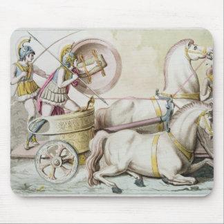 「ジプシー」のCostumi deiからのローマのCharioteers、engr マウスパッド