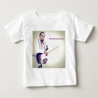 ジミーのエレキギターのティー ベビーTシャツ