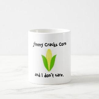 ジミーはトウモロコシを割ります モーフィングマグカップ