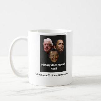 ジミーオバマ/バラクカーター コーヒーマグカップ