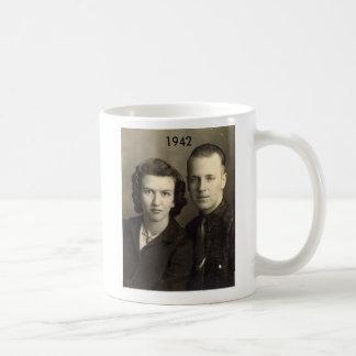 ジムおよびaleene 1942年 コーヒーマグカップ