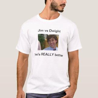 ジム対ドゥワイト Tシャツ
