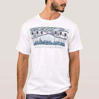 ジム6のやしはスケッチを、昔々…チョークで書きます Tシャツ