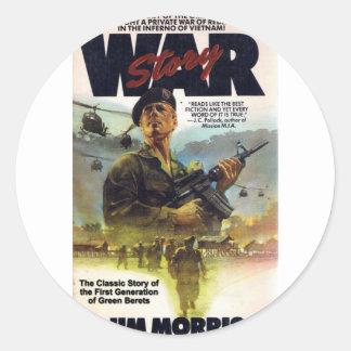 ジムMorrisのクラシックなベトナム戦争の物語 ラウンドシール