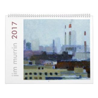 ジムMurrnの芸術2017のカレンダー カレンダー