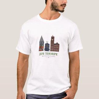 ジムThorpe、ペンシルバニア Tシャツ