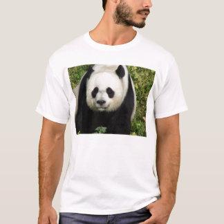 ジャイアントパンダの次々に顔のワイシャツ Tシャツ