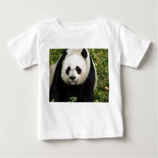 ジャイアントパンダの次々に顔の幼児ベビーのワイシャツ ベビーTシャツ