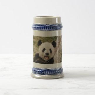 ジャイアントパンダのBear&のベビーのパンダステイン ビールジョッキ