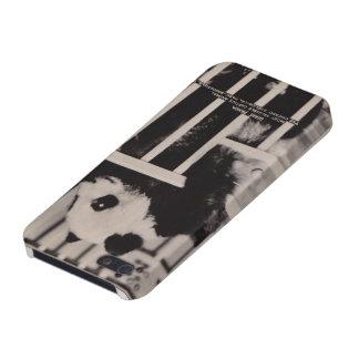 ジャイアントパンダのiPhone 5の場合のヴィンテージの郵便はがき iPhone 5 Cover