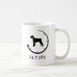 ジャイアント・シュナウザー コーヒーマグカップ