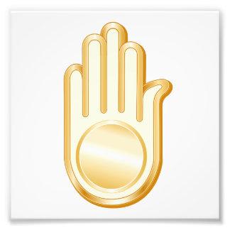 ジャイナ教の記号 フォトプリント