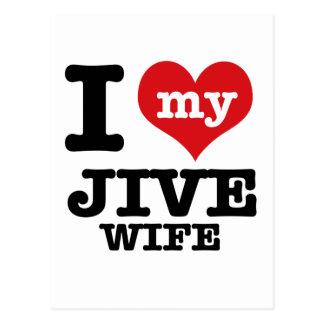 ジャイヴの妻 ポストカード