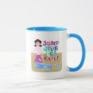 ジャイヴを跳び、失敗して下さい! マグカップ