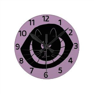 ジャイヴKatの柱時計 ラウンド壁時計
