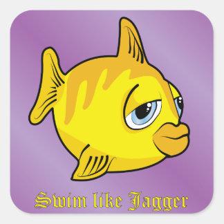 ジャガーのような水泳 スクエアシール