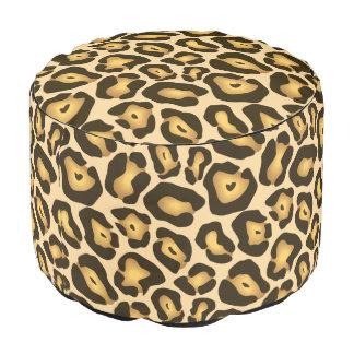 ジャガーのアニマルプリントパターン プーフ