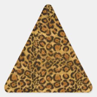 ジャガーのプリント、ジャガーの毛皮パターン、ジャガーの点 三角形シール