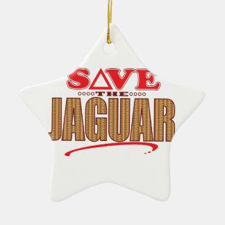ジャガーの保存 セラミックオーナメント