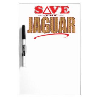 ジャガーの保存 ホワイトボード