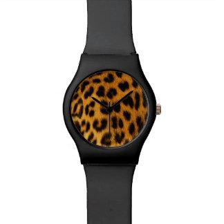 ジャガーの毛皮 腕時計