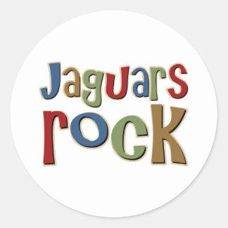 ジャガーの石 ラウンドシール