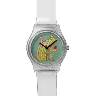 ジャガーの腕時計のテンプレート 腕時計