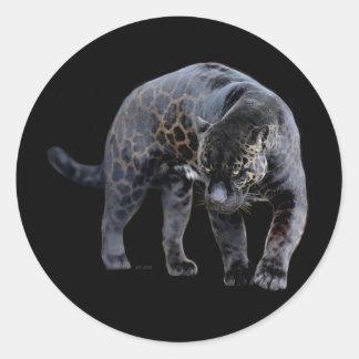 ジャガーのDiabloの円形のステッカー ラウンドシール