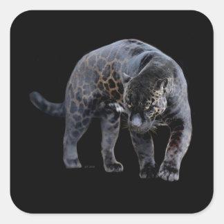 ジャガーのDiabloの長方形のステッカー スクエアシール