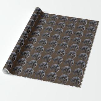 ジャガーのDiabloブラウンの包装紙 ラッピングペーパー