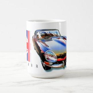 ジャガーのEタイプのxke コーヒーマグカップ