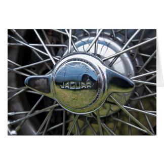 ジャガーワイヤー車輪 カード
