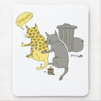ジャガー猫 マウスパッド