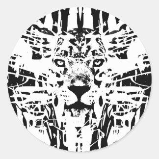 ジャガー走り書き ラウンドシール