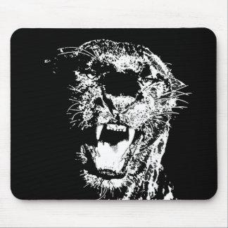 ジャガー-ブラックパンサー マウスパッド
