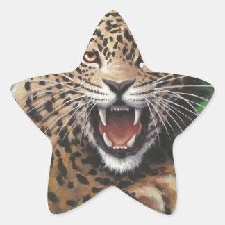 ジャガー 星シール