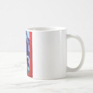 ジャガーEのタイプ水彩画 コーヒーマグカップ