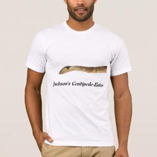 ジャクソンのムカデ食べる人のアメリカの服装のTシャツ Tシャツ