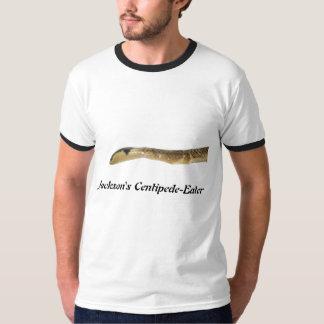 ジャクソンのムカデ食べる人の信号器のTシャツ Tシャツ