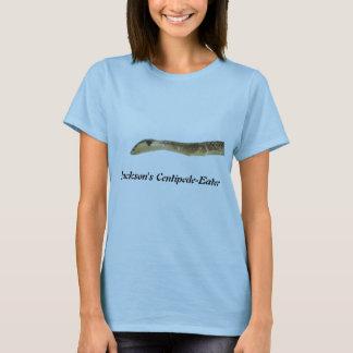 ジャクソンのムカデ食べる人の女性ベビードール Tシャツ