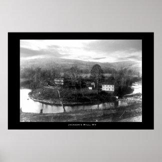 ジャクソンの製造所、ウェストヴァージニア ポスター